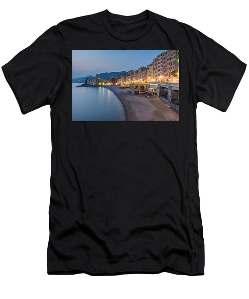 Camogli Blue Hour Men's T-Shirt (Athletic Fit)