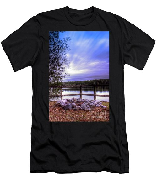 Camp Ground Men's T-Shirt (Slim Fit) by Maddalena McDonald