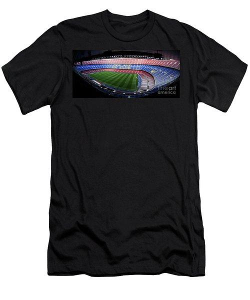 Camp Nou Men's T-Shirt (Athletic Fit)