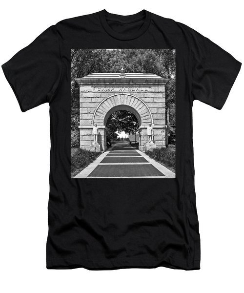 Camp Randall Memorial Arch 2 - Madison Men's T-Shirt (Athletic Fit)