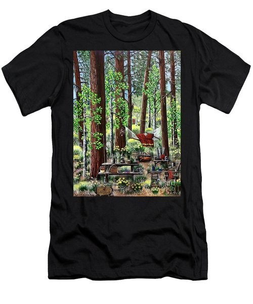 Camping Paradise Men's T-Shirt (Athletic Fit)