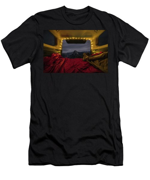 Camping Views Men's T-Shirt (Athletic Fit)