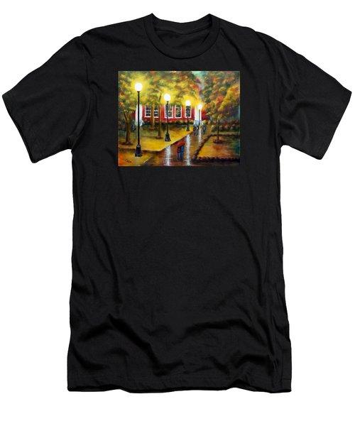 Campus Rain Men's T-Shirt (Athletic Fit)