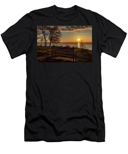 Campus Sunset Men's T-Shirt (Athletic Fit)
