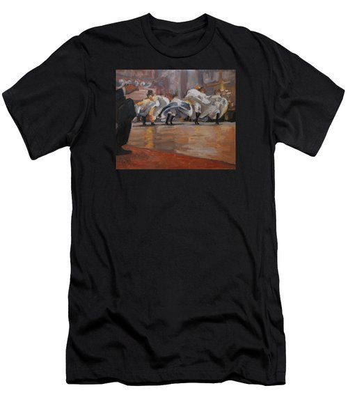 Can Can In The Moulin Rouge Paris Men's T-Shirt (Athletic Fit)