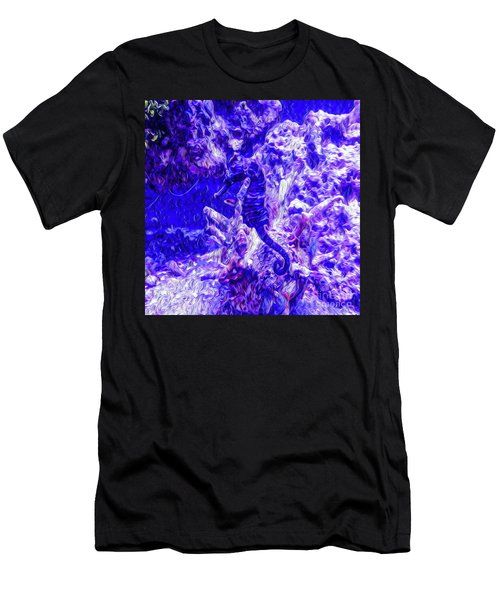 Can You Find The Sea Horse Men's T-Shirt (Athletic Fit)