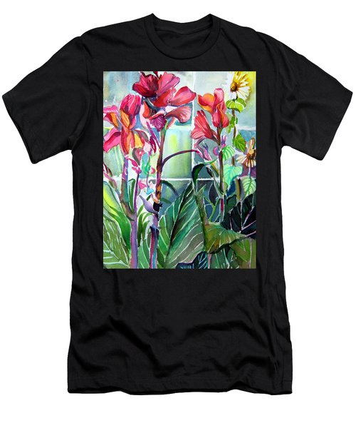 Cana Lily And Daisy Men's T-Shirt (Athletic Fit)