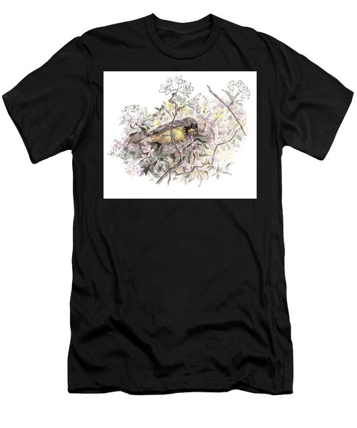 Canada Warbler Men's T-Shirt (Athletic Fit)