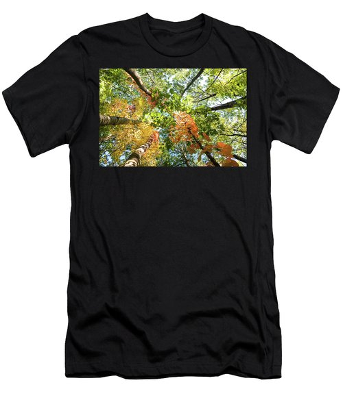 Canadian Foliage Men's T-Shirt (Athletic Fit)