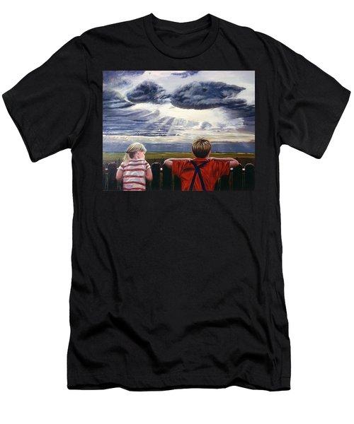 Canadian Prairies Men's T-Shirt (Athletic Fit)