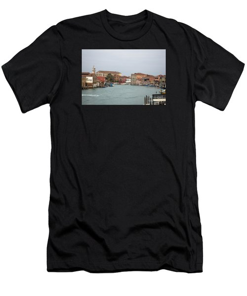 Canal Of Murano Men's T-Shirt (Athletic Fit)
