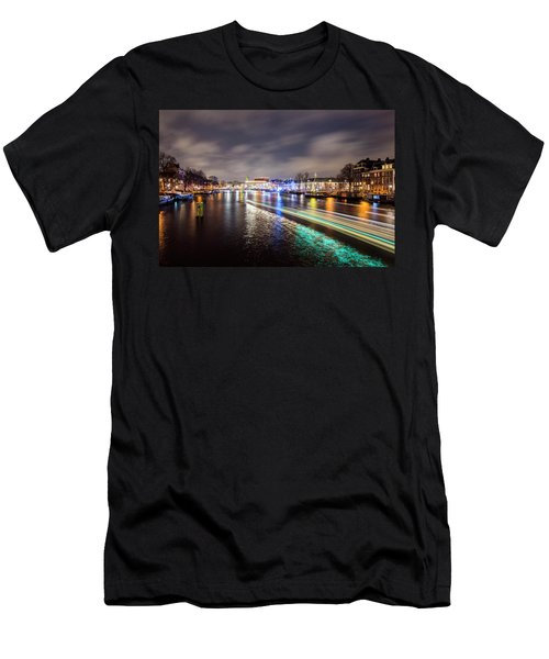 Canal Streaking Iv Men's T-Shirt (Athletic Fit)