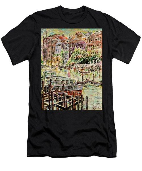Canale Grande Men's T-Shirt (Athletic Fit)