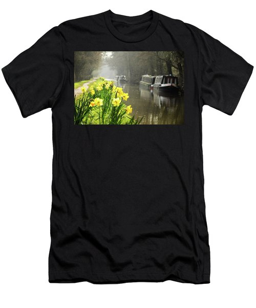 Canalside Daffodils Men's T-Shirt (Athletic Fit)