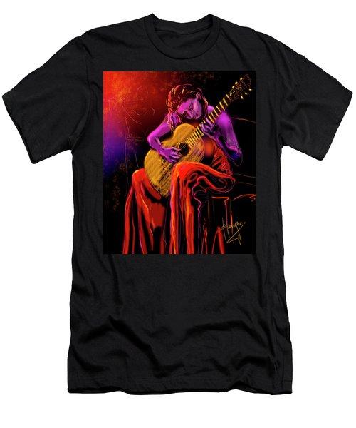 Cancion Del Corazon Men's T-Shirt (Slim Fit) by DC Langer