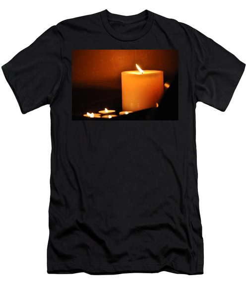 Candlelight Men's T-Shirt (Athletic Fit)