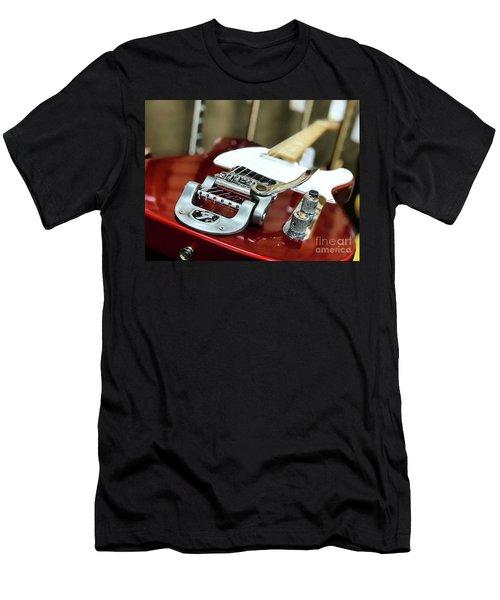 Candy Apple Fender Men's T-Shirt (Athletic Fit)