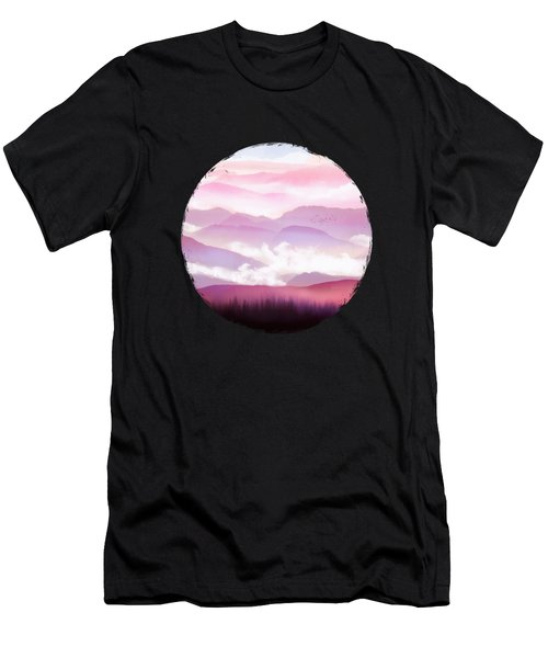 Candy Floss Mist Men's T-Shirt (Athletic Fit)