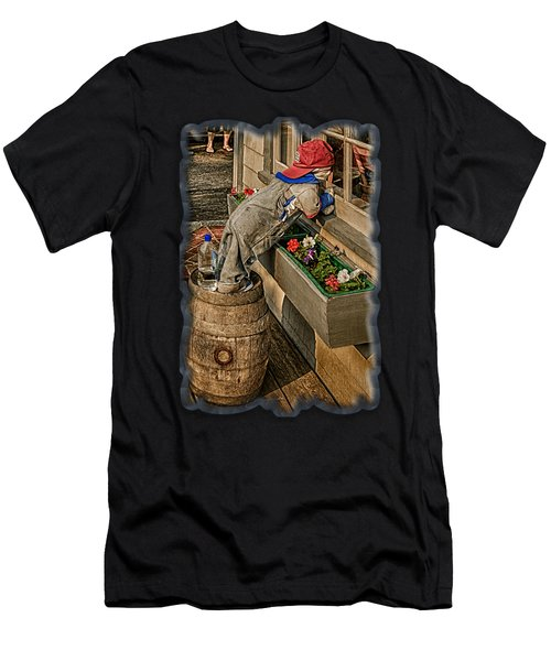 Men's T-Shirt (Athletic Fit) featuring the photograph Candy Store Delight by Mark Myhaver