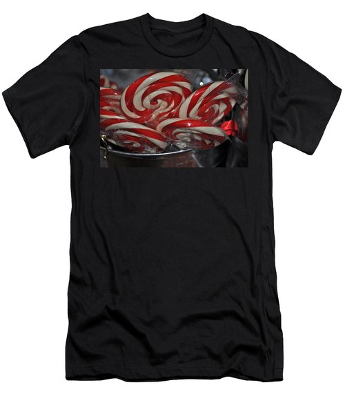 Candycane Lolli Men's T-Shirt (Athletic Fit)