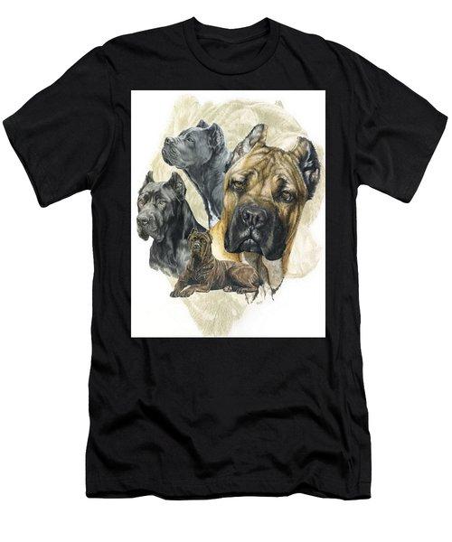 Cane Corso Medley Men's T-Shirt (Athletic Fit)