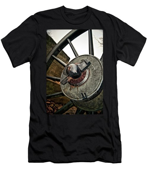 Cannon Wheel Men's T-Shirt (Athletic Fit)