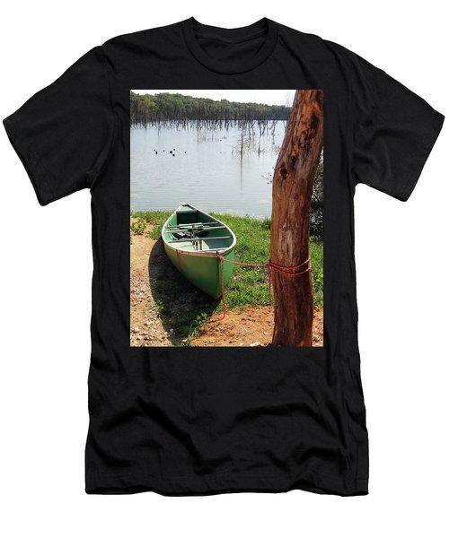 Canoe Men's T-Shirt (Athletic Fit)