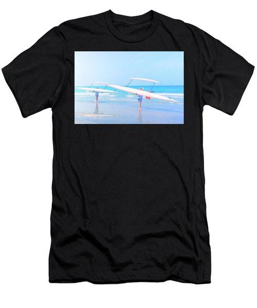 Canoe Ladies Men's T-Shirt (Athletic Fit)