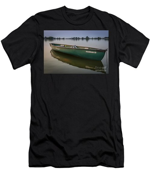 Canoe Stillness Men's T-Shirt (Athletic Fit)