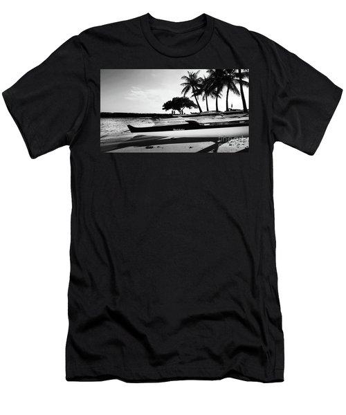 Canoes Men's T-Shirt (Slim Fit) by Kristine Merc