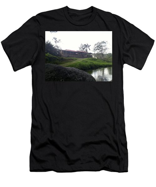 Cantine By The River Men's T-Shirt (Athletic Fit)