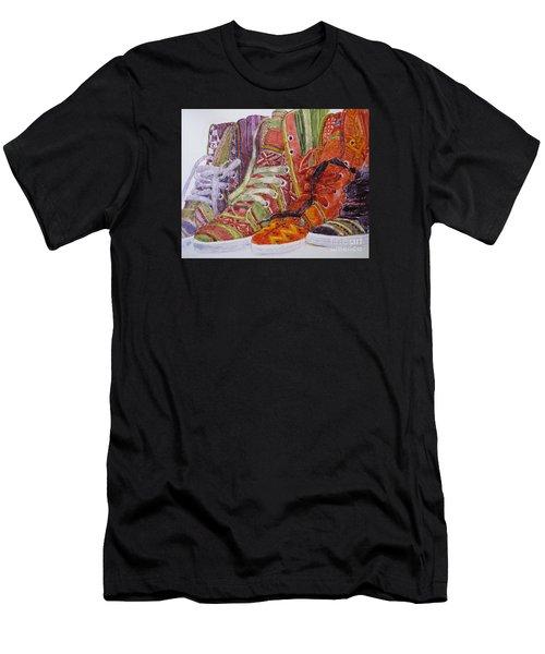 Canvas  Hightops Men's T-Shirt (Athletic Fit)