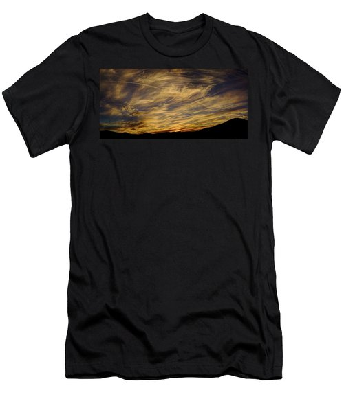 Canyon Hills Sunset Men's T-Shirt (Athletic Fit)