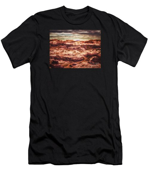 Canyon In The Painted Desert  ... Men's T-Shirt (Athletic Fit)