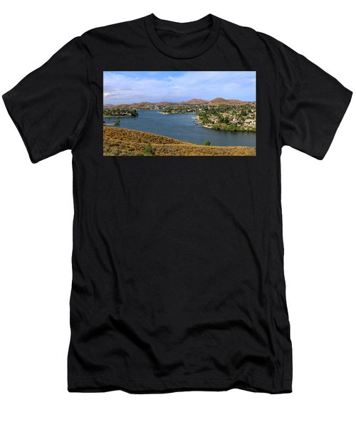 Canyon Lake Panorama Men's T-Shirt (Athletic Fit)