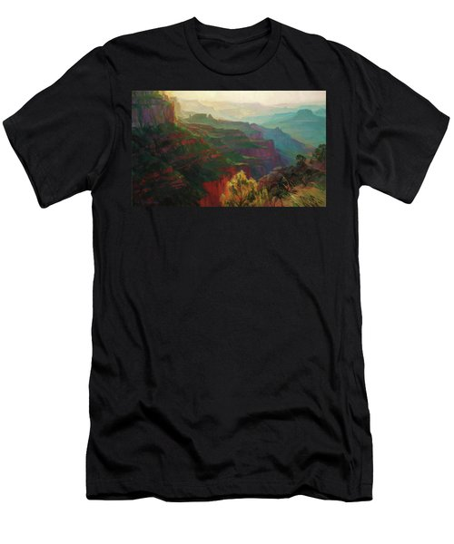 Canyon Silhouettes Men's T-Shirt (Athletic Fit)