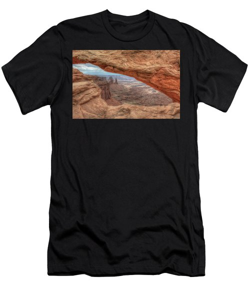 Canyonlands From Mesa Arch Men's T-Shirt (Athletic Fit)