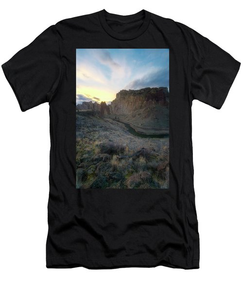 Canyon's Falling Daylight Men's T-Shirt (Athletic Fit)