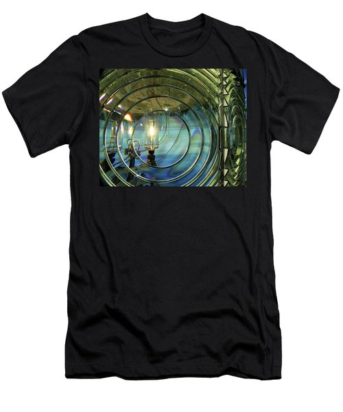Cape Blanco Lighthouse Lens Men's T-Shirt (Athletic Fit)