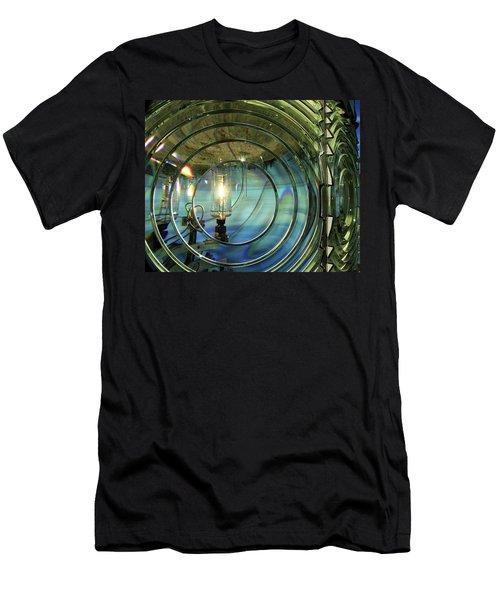 Cape Blanco Lighthouse Lens Men's T-Shirt (Athletic Fit)