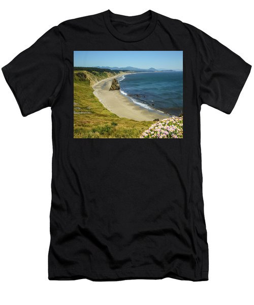 Cape Blanco On The Oregon Coast By Michael Tidwell Men's T-Shirt (Athletic Fit)