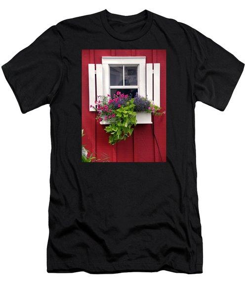 Cape Cod Window Box Men's T-Shirt (Athletic Fit)