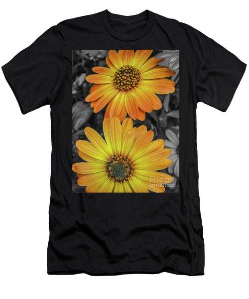 Cape Daisy's - Orange Men's T-Shirt (Athletic Fit)