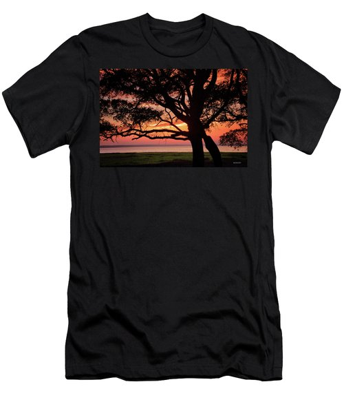 Cape Fear Sunset Overlook Men's T-Shirt (Athletic Fit)