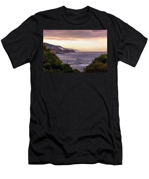 Cape Perpetua, Oregon Coast Men's T-Shirt (Athletic Fit)