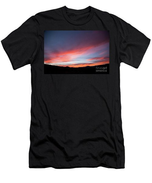 Capital Reef Sunset Men's T-Shirt (Athletic Fit)