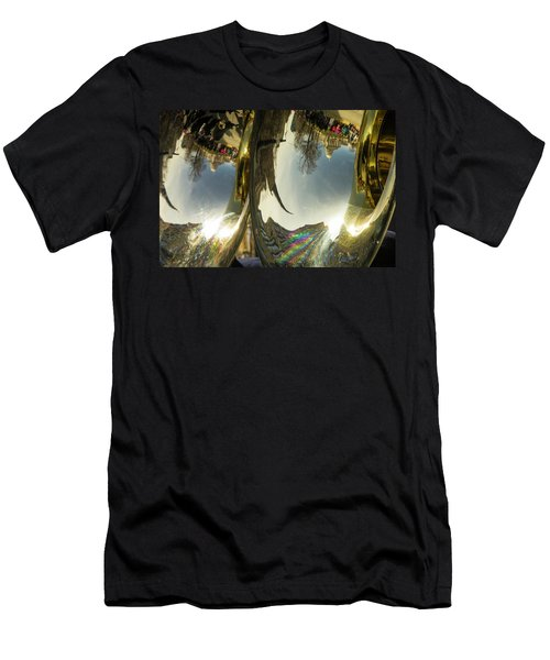 Capitol Reflection - Madison - Wiscosnin Men's T-Shirt (Athletic Fit)