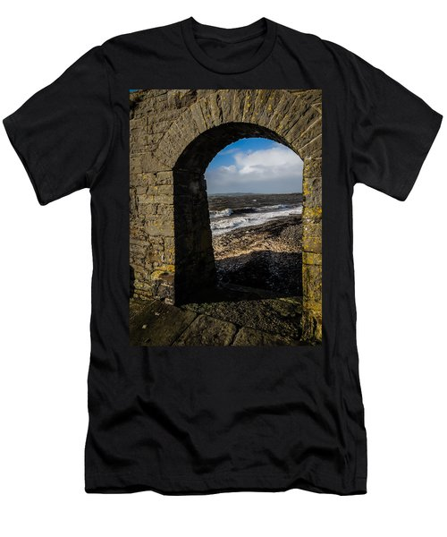Cappagh Pier And Ireland's Shannon Estuary Men's T-Shirt (Athletic Fit)