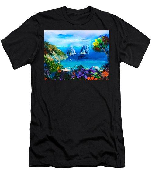 Capri Colors Men's T-Shirt (Athletic Fit)