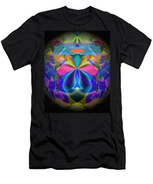 Men's T-Shirt (Slim Fit) featuring the digital art Caprice by Lynda Lehmann